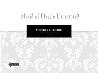 Mystery  Terror