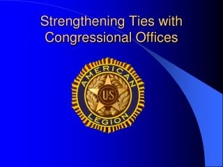 Strengthening Ties with Congressional Offices