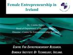 Female Entrepreneurship in Ireland