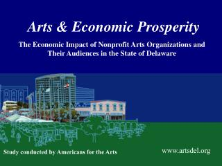 Arts  Economic Prosperity