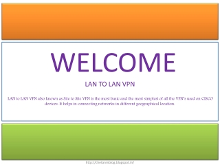 LAN TO LAN VPN