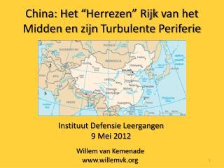 China: Het  Herrezen  Rijk van het Midden en zijn Turbulente Periferie
