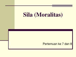 Sila Moralitas