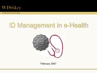 ID Management in e-Health