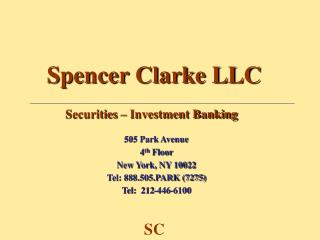 Spencer Clarke LLC