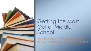 Understanding        Your Middle    School Child