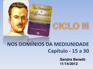 NOS DOM NIOS DA MEDIUNIDADE Cap tulo - 15 a 30