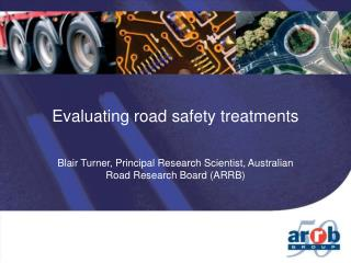 Evaluating road safety treatments