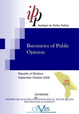 BAROMETRUL OPINIEI PUBLICE DIN MOLDOVA