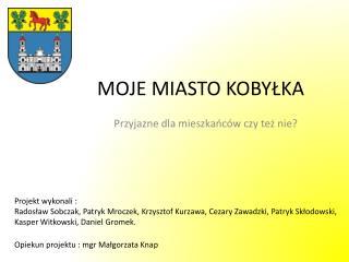 MOJE MIASTO KOBYLKA