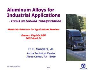 ASM Eastern VA, 2005-04-21