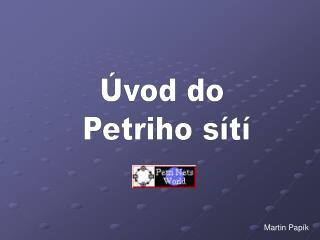 vod do  Petriho s t