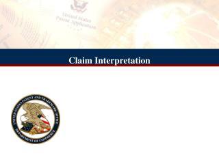 Claim Interpretation