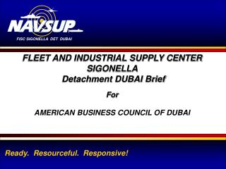 FISC SIGONELLA DET DUBAI 1