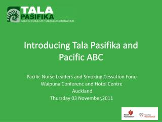 Introducing Tala Pasifika and Pacific ABC