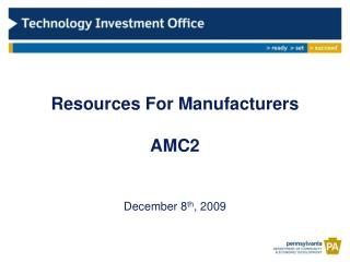 Resources For Manufacturers   AMC2