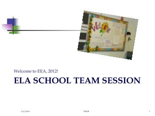 ELA School Team Session