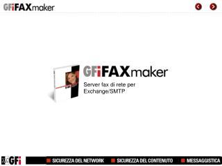 Server fax di rete per Exchange