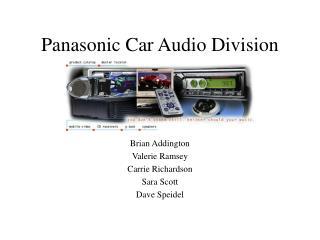 Panasonic Car Audio Division