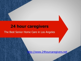 Immense variety of services provided by 24hourcaregivers