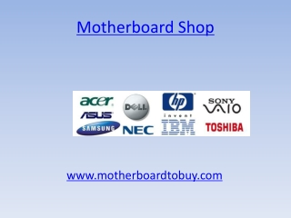 Talk about www.motherboardtobuy.com