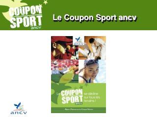 Le Coupon Sport ancv