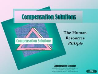 Compensation Solutions