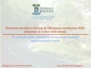 Sicurezza stradale e sistema di rilevazione automatica delle infrazioni al Codice della strada   Il controllo delle velo