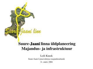 Suure-Jaani linna  ldplaneering Majandus- ja infrastruktuur