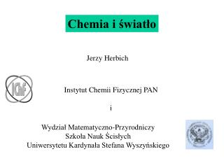 Chemia i swiatlo