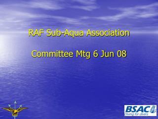 RAF Sub-Aqua Association