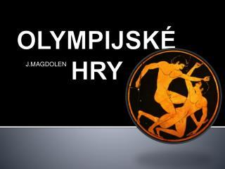 OLYMPIJSK  HRY