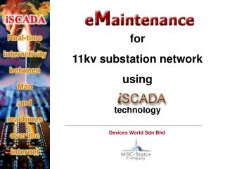 For 11kv substation network using   technology