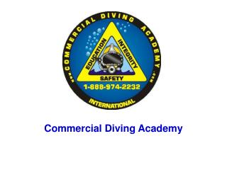 Commercial Diving Academy