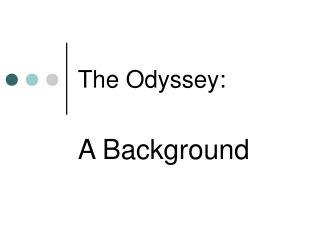 The Odyssey: