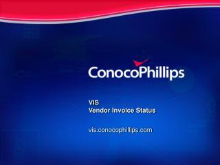 VIS Vendor Invoice Status