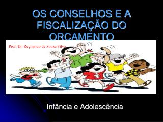 OS CONSELHOS E A  FISCALIZA  O DO OR AMENTO