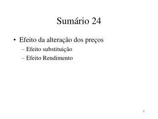 Sum rio 24