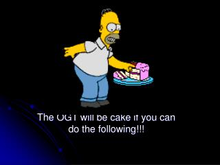 The OGT will be cake if you can do the following