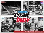 Mazda Road to Indy:  2012 Season Recap