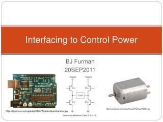 Interfacing to Control Power