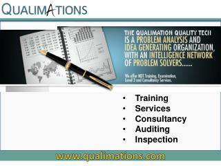 Training Services Consultancy Auditing Inspection
