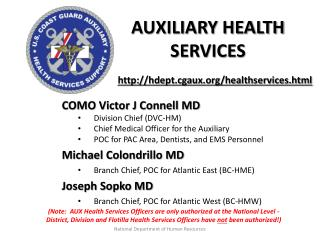 Auxiliary Health Services
