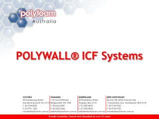 POLYWALL  ICF Systems