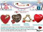 Valentine Gifts to India: Valentine Flowers, Valentine Cakes