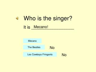 Who is the singer