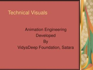 Technical Visuals