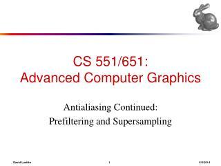 CS 551