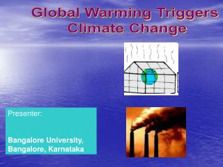 Global Warming Triggers  Climate Change
