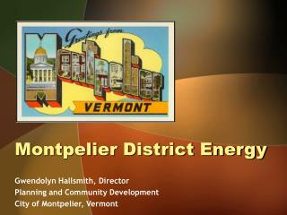 Montpelier District Energy